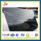 Nieuwe Nero Marquina Marble Slab voor Flooring /Walling (YY - MS003)