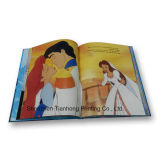 Cmyk Printing Child's Hardcover Story Book (OEM-HC016)