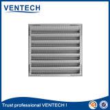 El clima de color blanco, rejilla de aire para sistema HVAC