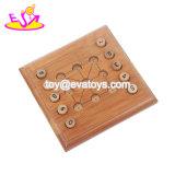 Jogo de bambu dos verificadores das crianças internas as mais quentes novas com placa W11A071