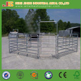 China Factory Supply 6 Rails Oval Tube Panel de clôture bovine