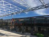 熱間圧延の電流を通された鉄骨構造のプレハブの倉庫2018033