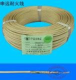 La chaleur de résistance d'incendie résistent au fil tressé en verre de câble de mica de fibre