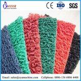 Esteira dobro dos pés da esteira da bobina do PVC da cor/esteira do assoalho/da esteira/carro pés da porta que faz a máquina