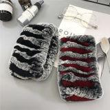 Fascia calda della pelliccia del coniglio di Rex del Knit della donna di vendita
