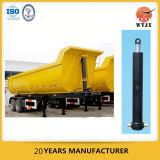 Cilindro hidráulico telescópico de vários estágios para o caminhão de descarga/caminhão de Tipper/reboque