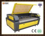 Máquina de gravura a laser de tecido de alimentação automática