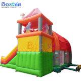 Castillo inflable comercial de la gorila, castillo inflable con la diapositiva