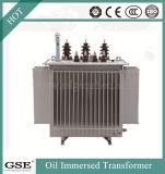 33kv, 1000kVA, transformador 3phase imergido petróleo