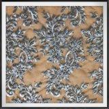 優雅な網の刺繍のレースの敏感なテュルの刺繍のレースの花の刺繍のレース