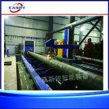 Hochleistungs-CNC-Plasma-Flamme-Ausschnitt-Maschine für grosses Durchmesser-Rohr/Gefäß