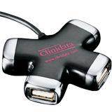 4-haven USB 2.0 Hub met de Individuele Schakelaars van de Macht
