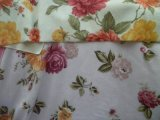 A impressão de flores de veludo macio (HZS Super--00351)