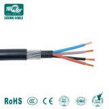 Fita de aço de cabo de fibra óptica de Sm blindados