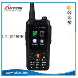 Lt-101WiFi Android 4.4.2 Téléphone cellulaire GSM/WCDMA un talkie-walkie avec carte SIM