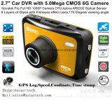 """2018 частных 2,7"""" Full HD 1080P приборной панели автомобиля видео с кулачка 5.0mega Imx Sony Exmor 323 цифровой видеорегистратор, камеры слежения GPS регистратор DVR-2708"""