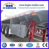 2/3 Flachbett-/Plattform-Behälter-LKW-halb Schlussteil der Wellen-20FT/40FT für Verkauf