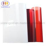 25um/36um/50um/75um/100um/125um保護フィルムの裏付けのためのシリコーン油が付いている赤いペットはく離ライナー