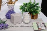 Горячий продавать душистыми соевые свечи в стеклянный кувшин для декоративной с подарочной коробки