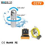 Macchina fotografica di perdita ed ostruito di rilevazione per controllo dell'impianto idraulico dello scolo della fogna del tubo con la video funzione del CCTV
