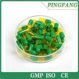 Чистый зеленый пустой жесткий желатиновых капсулах размер оболочки 0