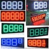 5インチLEDの防水赤LEDの給油所の印