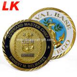 高品質のカスタム金属のクラフトの真鍮の柔らかいエナメルの記念品の硬貨