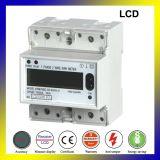 DIN Multi-Rate электрической энергии с помощью дозатора RS485