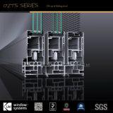 Diseño innovador de inclinación hacia arriba aislado de aluminio puerta corredera para edificios comerciales y residenciales