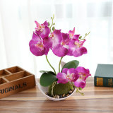 Творческие домашних настольных украшения искусственный шелк цветов БУКЕТ БОНСАЙ