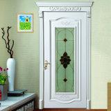 Porta In Legno In Vetro Mosaico Colore Bianco Stile Europeo (Yh-6010)