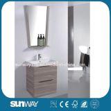 Neue an der Wand befestigte Belüftung-Beschichtung-Badezimmer-Eitelkeit Sw-MP1602