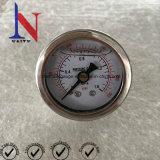 1.5 Polegada pequenas discar novamente o medidor de pressão hidráulica de conexão