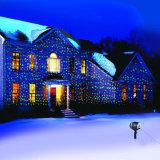 Plástico impermeable contemporáneo fiesta de Navidad Blanco frío césped luz LED