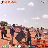 埋められるIsolar電池太陽LEDの街灯をつける