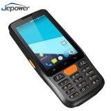 Android Market 6.0 Coletor de dados portátil 1D PDA Wireless Handheld Scanner de código de barras 2D