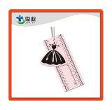 Bonito vestido de princesa etiquetas personalizadas con hilo
