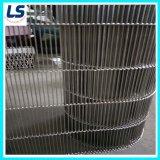 Transportband van het Metaal van het roestvrij staal de vlak-Flex