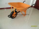 Wheelbarrow da fábrica Wb6400 do carrinho de mão de roda de Qingdao do preço do competidor da alta qualidade