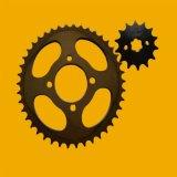 pièces de rechange pour moto Honda acier 1045 de pignon