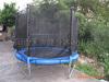 grande trampolino di 16ft con la recinzione