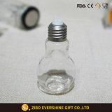 Vaso di vetro a forma di della spezia di vendita della lampadina calda di alta qualità