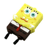 Patrick Star Stick USB Cartoon Spongebob Unidade Flash USB em PVC