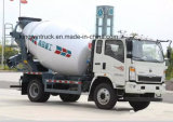 3-5m3를 위한 Concrete Mixer Drum를 가진 HOWO Light Truck