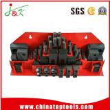 58 PCS-metrischer festklemmender Installationssatz (M10, M12, M14, M16)