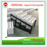 Bateria de armazenamento solar do ferro Tn1200 niquelar