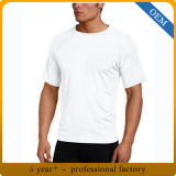 T-shirt 100% en bonne santé de dri de sport du polyester des hommes faits sur commande