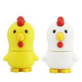 Poulet USB Flash Drive Cartoon Animal Memory Stick Dispositif de stockage Pen Drive 4G8g16g 32g