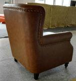التبغ اللون جلد كرسي الرئاسة، السيجار نادي، فندق كرسي (A888)