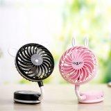 mini ventilatore elettrico della mano piegato 1.7-3.6W della Tabella con tre colori